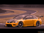 Honda Civic TypeR Sedan by Ophideus