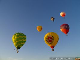 Hot Air Balloons by ToS2sEnd