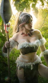 Nidalee - League of Legends Cosplay by Dragunova-Cosplay