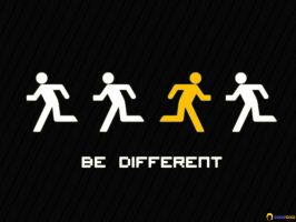 Be Different by caniodica