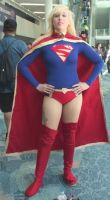 Supergirl at WonderCon 2013 by trivto