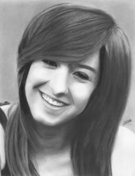 In Memory of Christina Grimmie | Drawing Tribute by Eddyvl