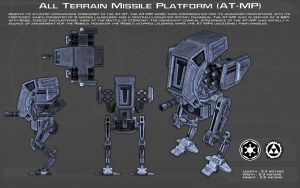 All Terrain - Missile Platform (AT-MP) ortho [New] by unusualsuspex