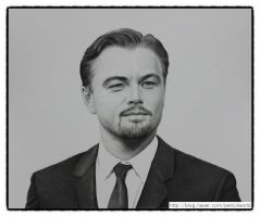 Leonardo DiCaprio Drawing by sharppower