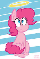 Pinkie Angel by Penguin-Potential