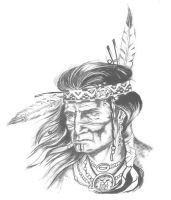 Native American by ArtisticAbomination