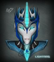 Lightning- TFP Headshot by Lady-Elita-1