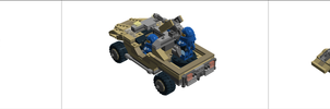 LEGO Halo - M12 ''Warthog'' LRV Collage by Aryck-The-One