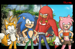 Sonic Boom .:The New Aosth:. by SpideyHog