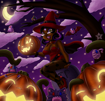 Halloween Time Again by CaramelKitt