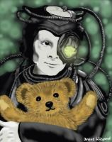 Borg with Teddybear by Vulkanette