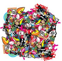 sticker bomb pack by zoexoso