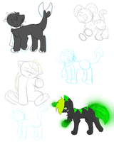 WIPs by LightAnimaux