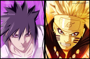 Naruto chapter 648 - Our dreams and despair COLLAB by Kortrex