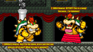 SMB-HotS Bowser Meet SMG4 Bowser by KingAsylus91
