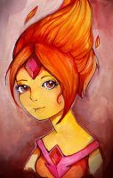 Flame Princess by Rubysnuff