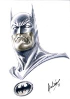 Batman Bust by julianlopezart