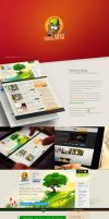Branding and Web Design - Vedro Larad by Tngabor