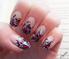 Abstract Nailart by xRixt