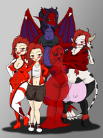 Team Red by Cornerbox
