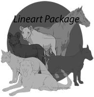 Lineart Package - Pay to Use by deadonarrival