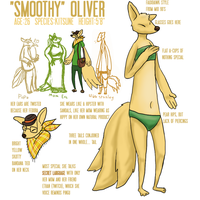 Smoothy oliver ref sheet by LeonardGreenland