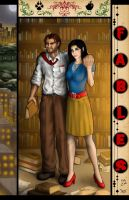 Bigby and Snow by Flocco