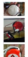Processes: Tsuna's headphones by XiaoBai