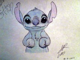 Cute Stitch by CavemanBoo