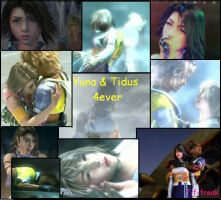 yuna and tidus 4ever by F-F-freak