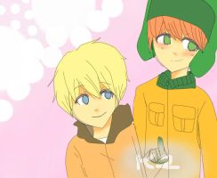 Kenny x Kyle 2 by steffanny