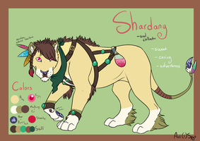 Shardany Ref by SpytDragonFyre