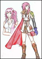 FFXIII: The Farron Sisters by CrimsonStigmata2501