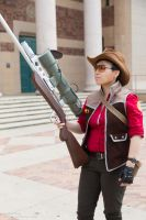 TF2 Sniper Cosplay [Sacanime 2013] by Ryuuji