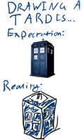 Look at my awesome TARDIS by TheIrritatingPenguin