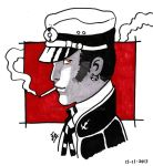 Corto Maltese Sketch by edwinj22