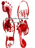 Footprints Image Pack by Zeds-Stock