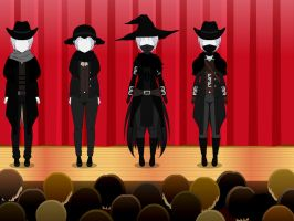 Bloodborne Hunter Outfits 2 by MechaSamurai