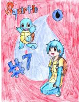 150 Pokemon Challenge No. 7 - Squirtle by MitsukiChan313