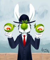 The Apple Dude by cjcat2266
