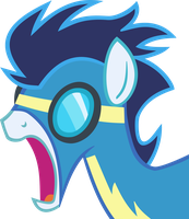 Shocked Soarin' Vector by hombre0