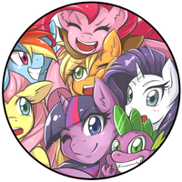 MLP Pin Badge by JinZhan
