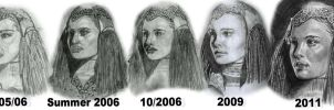 Drawing Development 2005-2011 by AngelinaBenedetti
