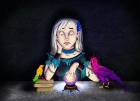Tuilinel the Fortune Teller by Jedi-Sentinel