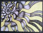 ACEO Abstract Ammonite 2 by Artwyrd