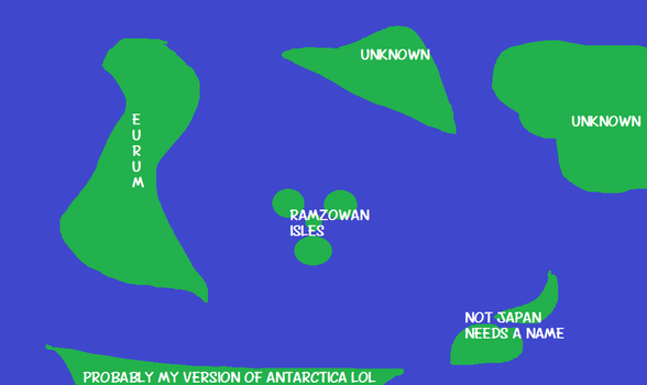My World's Worst Map Ever LOL by Juneberry-chan