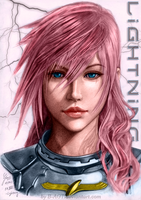 Final Fantasy XIII: Lightning 3 by SyntaxError255