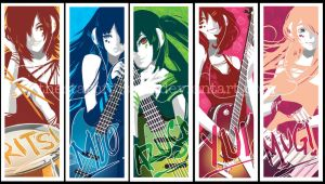 K-ON Prints by thestarofpisces