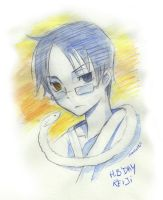 watanuki wish you a happy bday by Charln
