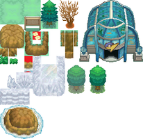 Pokemon BW2 tileset ripped by DarkDarkrai